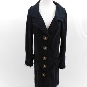 Millard Fillmore Long Black Coat